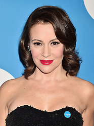 BEVERLY HILLS, CA - APRIL 14: Actress Alyssa Milano attends the 7th Biennial UNICEF Ball at the Beverly Wilshire Four Seasons Hotel on April 14, 2018 in Beverly Hills, California. 14 Apr 2018 Pictured: Alyssa Milano. Photo credit: TM/ROT/Capital Pictures / MEGA TheMegaAgency.com +1 888 505 6342