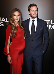 Armie Hammer with wife Elizabeth Chambers bei der Nocturnal Animals Los Angeles Premiere / 111116<br /> <br /> ***Nocturnal Animals Los Angeles Premiere in november 11, 2016***