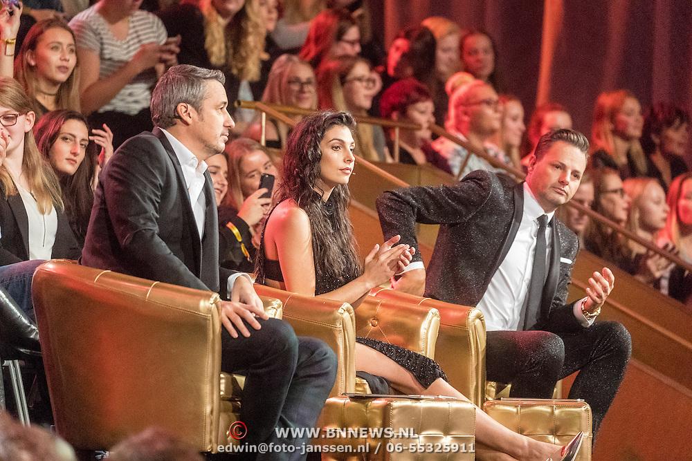 NLD/Amsterdam/20161025 - finale Holland Next Top model 2016, jury