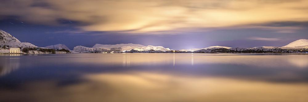 Silent night, Sandvika, Norway   Stille natt, Sandvika, Herøy, Norway
