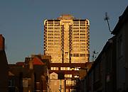 Brunel Tower, David Murray John building, iconic 1970s tower block, Swindon, England, UK