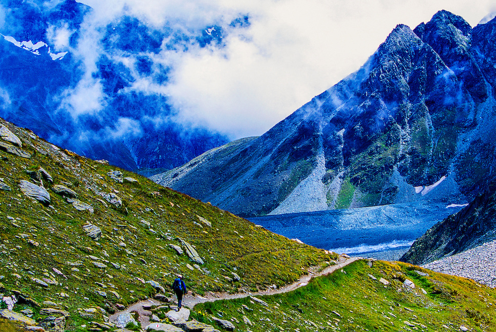 Pas de Chevres, Haute Route, Switzerland