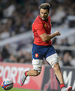 Twickenham, England.  QBE International. England vs France [World cup warm up match]   {DOW}, {DATE}, <br /> <br />   [Mandatory Credit. Peter SPURRIER/Intersport Images.