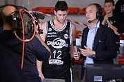 DESCRIZIONE : Roma Lega serie A 2013/14  Acea Virtus Roma Virtus Granarolo Bologna<br /> GIOCATORE : Matteo Imbro'<br /> CATEGORIA : televisione rai intervista<br /> SQUADRA : Virtus Granarolo Bologna<br /> EVENTO : Campionato Lega Serie A 2013-2014<br /> GARA : Acea Virtus Roma Virtus Granarolo Bologna<br /> DATA : 17/11/2013<br /> SPORT : Pallacanestro<br /> AUTORE : Agenzia Ciamillo-Castoria/GiulioCiamillo<br /> Galleria : Lega Seria A 2013-2014<br /> Fotonotizia : Roma  Lega serie A 2013/14 Acea Virtus Roma Virtus Granarolo Bologna<br /> Predefinita :