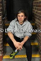 Orelsan photographié au O2 Forum, Kentish Town, Londres, Grande-Bretagne.