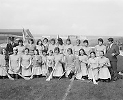 The winning team of the Dublin v Clare All Ireland Junior Camogie Final in Croke Park on the 15th of September 1974.