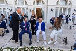 OSCAR GIANNINI ARIEDO BRAIDA ADRIANO GALLIANI E HELGA COSTA  <br /> INAUGURAZIONE CALCIOMERCATO 2021 GRAND HOTEL RIMINI