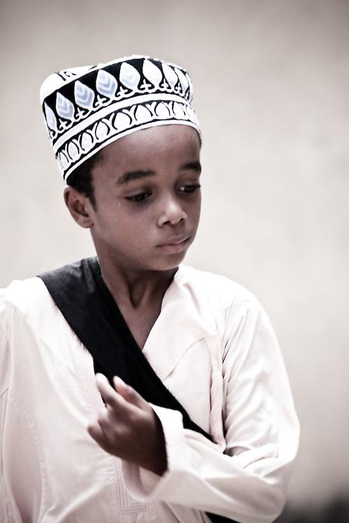 Boy in Stonetown, Zanzibar