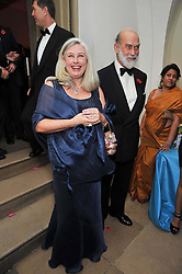 ELIZABETH VAN MERKENSTEIJN and HRH PRINCE MICHAEL OF KENT at the Royal Rajasthan Gala 2009 benefiting the Indian Head Injury Foundation held at The Banqueting House, Whitehall, London on 9th November 2009.