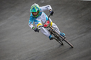 Cruiser - 12 & Under Men #11 (CAPELLO Federico Ariel) ARG at the 2018 UCI BMX World Championships in Baku, Azerbaijan.