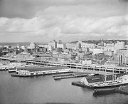 """0103-A029""""Port of Seattle. September 20, 1958"""" Diamond Ice is at 1334 Alaskan Way."""
