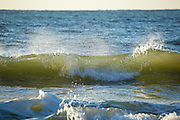 Breaking Waves at a Grand Strand Beach
