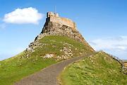 Lindisfarne Castle, Holy Island, Northumberland, England, UK