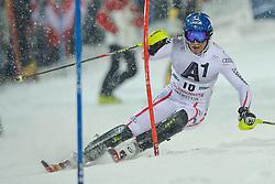 24.01.2012, Planai, Schladming, AUT, FIS Weltcup Ski Alpin, Herren, Slalom 1. Durchgang, im Bild Benjamin Raich (AUT) // Benjamin Raich of Austria during the first run of the FIS Alpine Skiing World Cup mens slalom race, Schladming, Austria on 2012/01/24. EXPA Pictures © 2012, PhotoCredit: EXPA/ Sandro Zangrando
