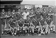 All Ireland Hurling Finals.1986..07.09.1986..09.07.1986..7th September 1986..September,every year,is the highlight of the GAA calendar with The All Ireland Finals being held in both codes. The senior and minor finals in each code are both played for on the same day. Each finalist has battled through provinical and knock out stages to reach the final.It is widely regarded as the pinnacle of a players career to reach and win an All Ireland Championship..In this years hurling finals,Cork played Offaly in the minor championship and a much fancied Galway team took on Cork in the senior final. Both matches were well fought and close encounters...In the senior hurling final Cork emerged victorious with a score of 4.13 (25) to Galways' 2.15 (21)..Pictured here is the much fancied Galway team who started the match, against Cork,as favourites to win the All Ireland Hurling Final