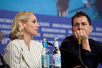 Actress Diane Kruger and Director, Producer Yuval Adler at the press conference for the film The Operative (Die Agentin) at the 69th Berlinale International Film Festival, on Sunday 10th February 2019, Hotel Grand Hyatt, Berlin, Germany.