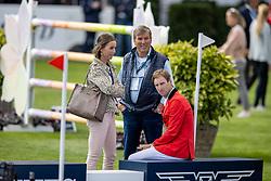 Devos Pieter, BEL, Poels Caroline, NED, Weinberg Peter, GER<br /> European Championship Riesenbeck 2021<br /> © Hippo Foto - Dirk Caremans<br />  02/09/2021