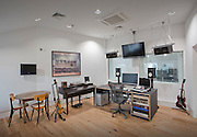 sound tree recording studios london old street. interior. ben adams architecture.