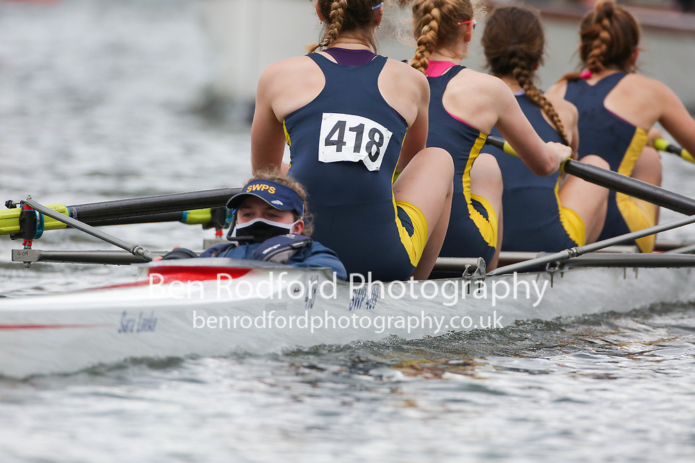 Junior 4+  Heat<br /> <br /> Enniskillen Royal Boat Club, Ireland <br /> Sir William Perkin's School <br /> <br /> Henley Women's Regatta 2021<br /> Saturday