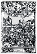 Plate of 1531 illustrating the planet Venus and those under its influence.