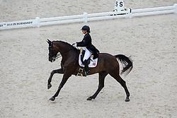 Ellen Brigitte Farbrot, (NOR), Tailormade Akon Askelund - Grand Prix Team Competition Dressage - Alltech FEI World Equestrian Games™ 2014 - Normandy, France.<br /> © Hippo Foto Team - Leanjo de Koster<br /> 25/06/14