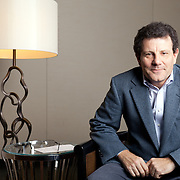 Pulitzer Prize-winner Nicholas D. Kristof, a colunist for the New York Times, in the green room of the Lady Bird Auditorium at the Lyndon Baines Johnson Presidential Library at UT Austin. Kristof delivered the 2012 Liz Carpenter Lecture, hosted by the Plan II Honors Program.