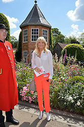 GABY ROSLIN at the 2016 RHS Chelsea Flower Show, Royal Hospital Chelsea, London on 23rd May 2016