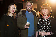 Lorraine O Hanlon, Owen Coyle and Aisling Daly Galway Independent  at The Jameson The Black Barrel Craft Series  at Old printing works, Market Street with music by Corner boy.  Photo:Andrew Downes