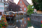 terrace little venice jys restaurant q de la poissonnerie colmar alsace france