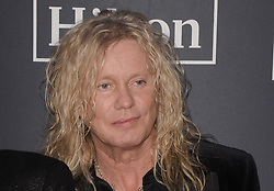 March 30, 2019 - Brooklyn, New York, USA - NEW YORK, NEW YORK - MARCH 29: Rick Savage of Def Leppard attends the 2019 Rock & Roll Hall Of Fame Induction Ceremony at Barclays Center on March 29, 2019 in New York City. Photo: imageSPACE (Credit Image: © Imagespace via ZUMA Wire)