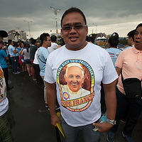 Pope Francis visited the Philippines. Millions of people waited hours to see him pass by. Pope Francis has prepared an encyclical on the environment and climate change, and the Pope's visit to show solidarity with victims of Typhoon Haiyan, known locally as Yolanda, is thought to be related to his message on climate change and the importance of 2015 for negotiations on climate change.