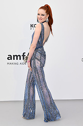 Barbara Meier attending the 26th amfAR Gala held at Hotel du Cap-Eden-Roc during the 72nd Cannes Film Festival. Picture credit should read: Doug Peters/EMPICS