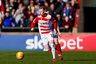 Doncaster Rovers midfielder Ali Crawford (11) in action  during the EFL Sky Bet League 1 match between Scunthorpe United and Doncaster Rovers at Glanford Park, Scunthorpe, England on 23 February 2019.