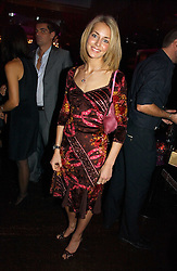LADY ISABELLA HERVEY at a party to celebrate the 10th year of Fashion Targets Breast Cancer UK held at The Cuckoo Club, Swallow Street, London W1 on 30th October 2006.<br /><br />NON EXCLUSIVE - WORLD RIGHTS