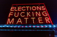 Elections Fucking Matter (artist name unknown)