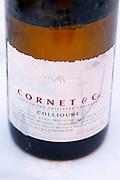 Cuvee Cornet & Cie. La Cave de l'Abbe Rous. Banyuls-sur-Mer. Roussillon. France. Europe. Bottle.