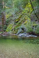 Big Sur River, Sykes Hot Springs, Big Sur, California.