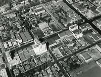 1937 Looking at Hollywood Blvd. at Orange Dr.