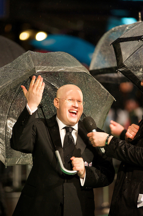 Actor Matt Lucas attends the Royal World Premiere of 'Alice in Wonderland' at the Odeon Leicester Square in London.