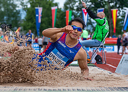 26.05.2018, Moeslestadion, Götzis, AUT, 45. Hypo Meeting Goetzis, Zehnkampf Herren, im Bild Keisuke Ushiro (JPN) beim Weitsprung // Keisuke Ushiro of Japan of the 45th Hypo Athletics Meeting at the Moeslestadion in Götzis, Austria on 2018/05/26. EXPA Pictures © 2019, PhotoCredit: EXPA/ Peter Rinderer