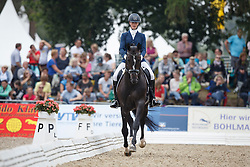 Woolley Emma, (GBR), Eldorado 154<br /> Small Final 6 years old horses<br /> World Championship Young Dressage Horses - Verden 2015<br /> © Hippo Foto - Dirk Caremans<br /> 08/08/15