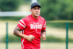Tusi Pisi in action as Bristol Bears train and prepare for the 2018/19 Gallagher Premiership Rugby Season - Mandatory by-line: Robbie Stephenson/JMP - 16/07/2018 - RUGBY - Clifton Rugby Club - Bristol, England - Bristol Bears Training