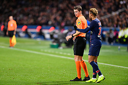 November 2, 2018 - Paris, ile de france, France - Neymar Jr #10 during the french Ligue 1 match between Paris Saint-Germain (PSG) and Lille (LOSC) at Parc des Princes stadium on November 2, 2018 in Paris, France. (Credit Image: © Julien Mattia/NurPhoto via ZUMA Press)