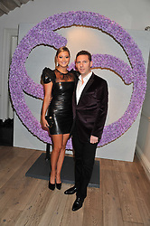 NICK CANDY and HOLLY VALANCE at a reception to celebrate the publication of Candy and Candy: The Art of Design held at the Halcyon Gallery, 24 Bruton Street, London W1 on 26th October 2011.