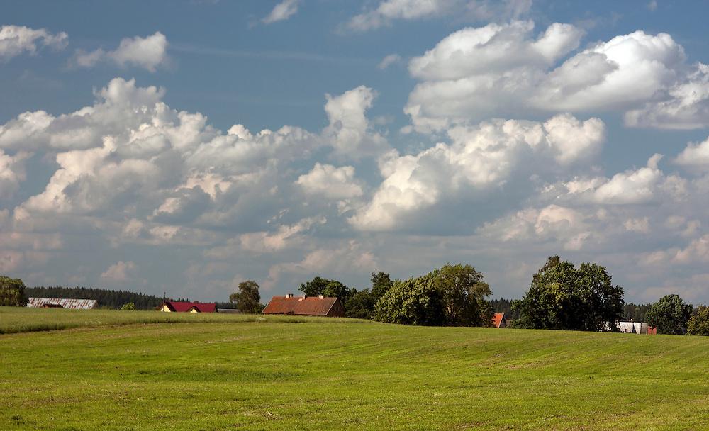 Mazurski krajobraz, okolice  Gołdapi