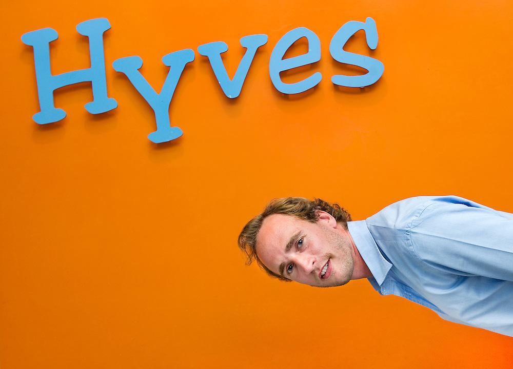 Nederland, Amsterdam, 15-06-2011.<br /> Raymond Spanjar, mede-oprichter Hyves.<br /> Foto : Klaas Jan van der Weij