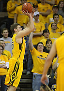 January 27, 2010: Iowa guard Eric May (25) puts up a shot during the first half of their game at Carver-Hawkeye Arena in Iowa City, Iowa on January 27, 2010. Ohio State defeated Iowa 65-57.