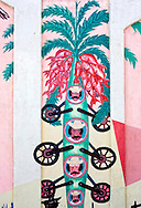 Mural in Cienfuegos, Cuba.