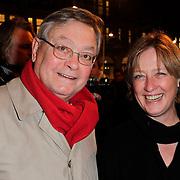 NLD/Amsterdam/20120313 - Inloop Boekenbal 2012, Ds. Nico van der Linden en partner Ine Kuhr