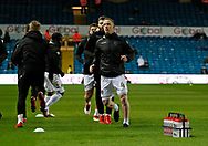 Leeds United midfielder Adam Forshaw warming up during the EFL Sky Bet Championship match between Leeds United and Wolverhampton Wanderers at Elland Road, Leeds, England on 7 March 2018. Picture by Paul Thompson.
